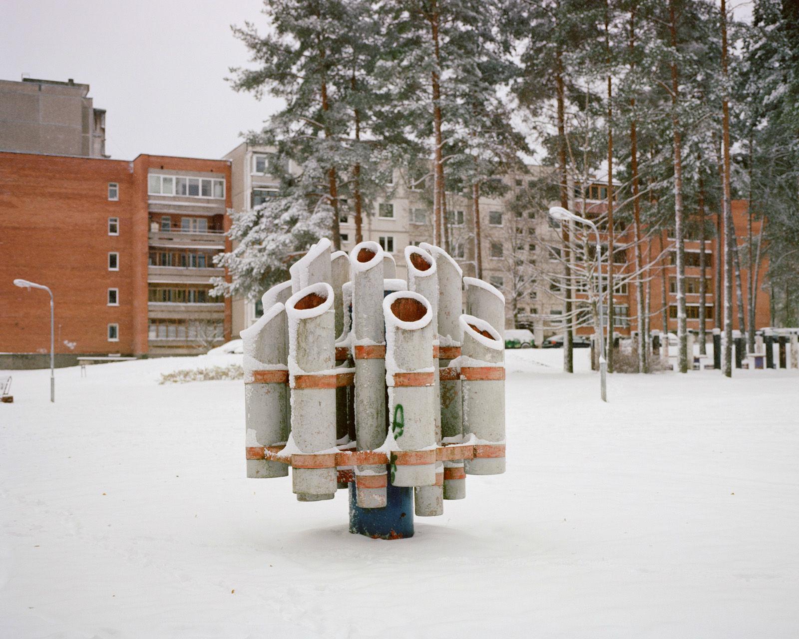 Visaginas. La ciudad se construyó en 1975 por la Unión Soviética para alojar a los trabajadores de la central nuclear de Ignalina