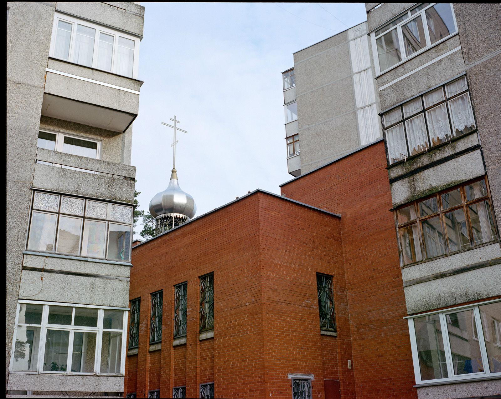 Iglesia ortodoxa de Visaginas.