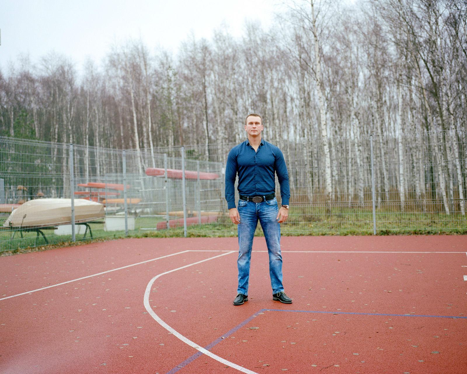Jewgienij Szuklin, 31-letni sportowiec i członek rady miasta.