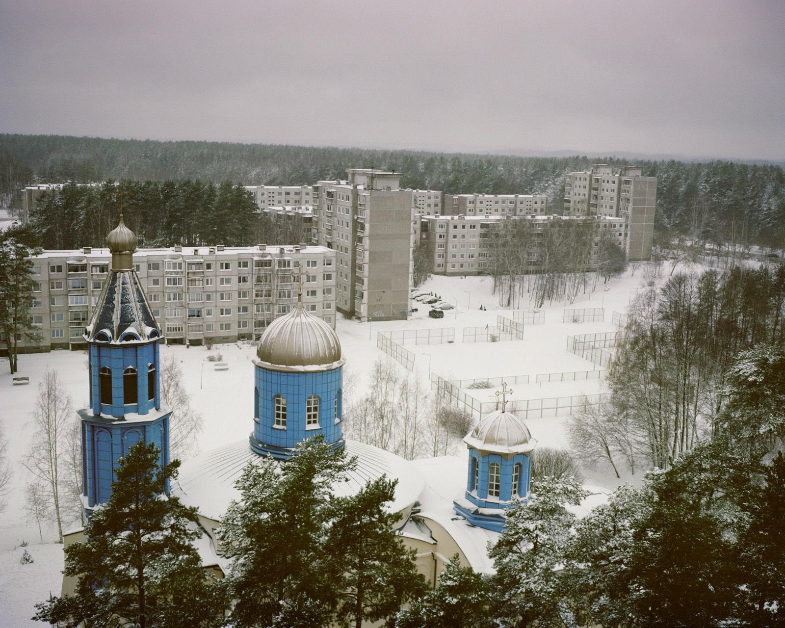 Wisaginia, kościół prawosławny.