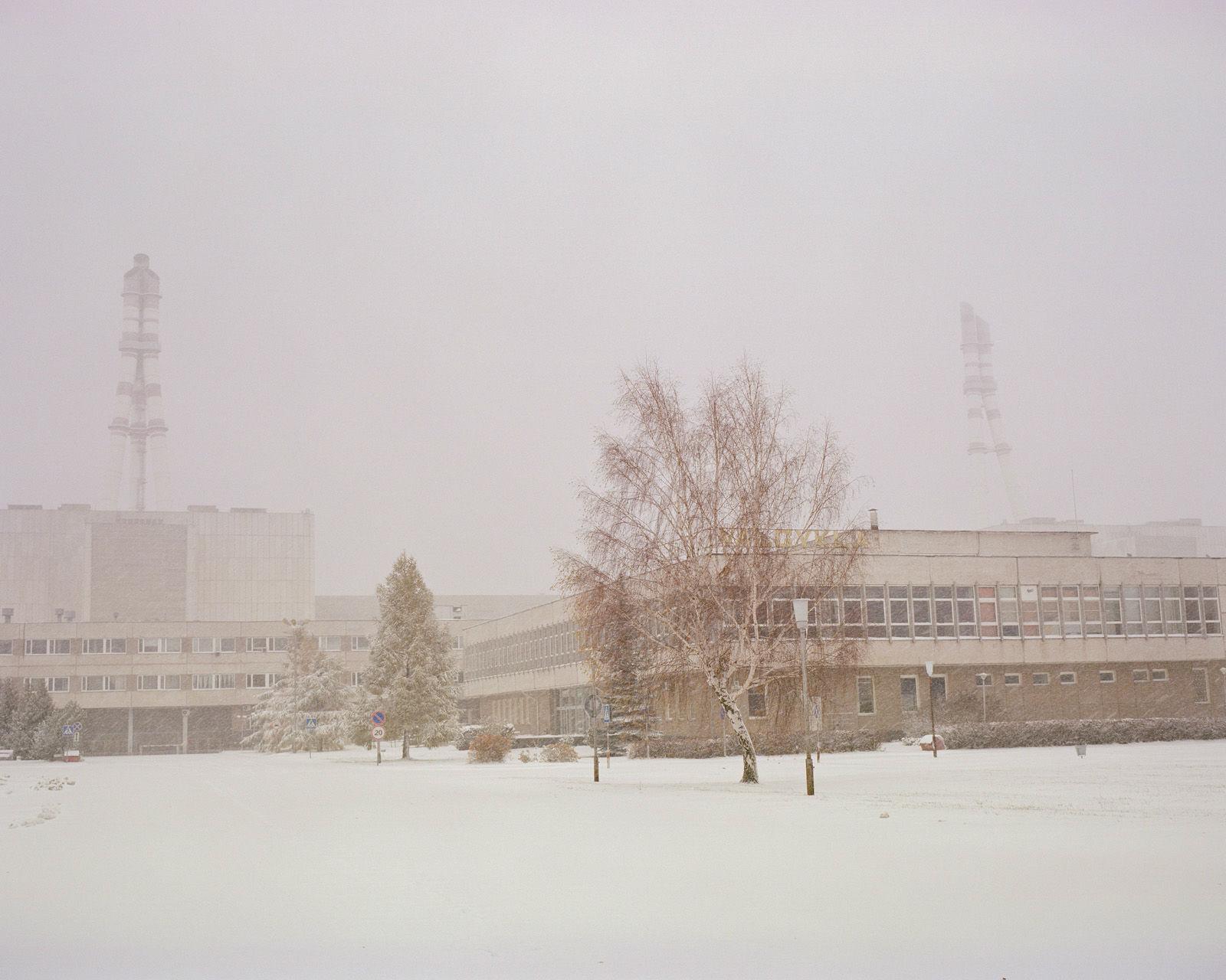 La central nuclear de Ignalina.