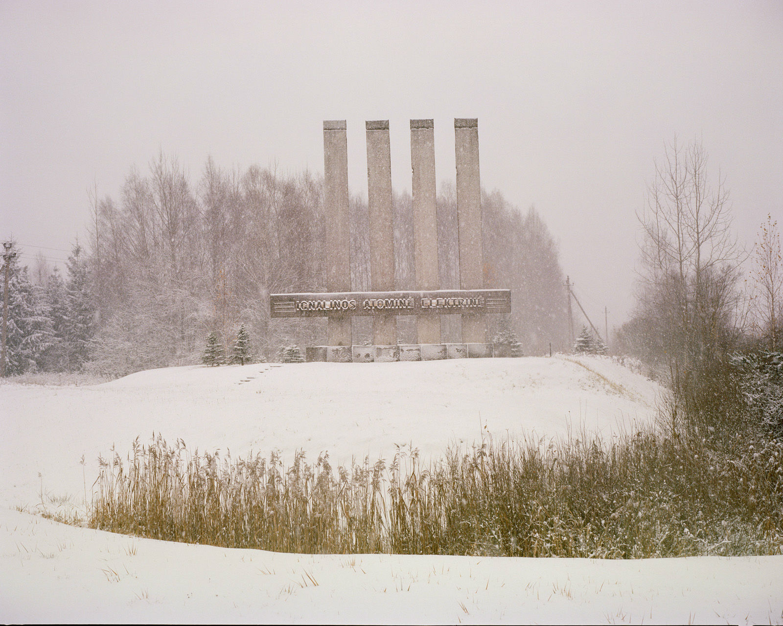 The Ignalina nuclear power plant.