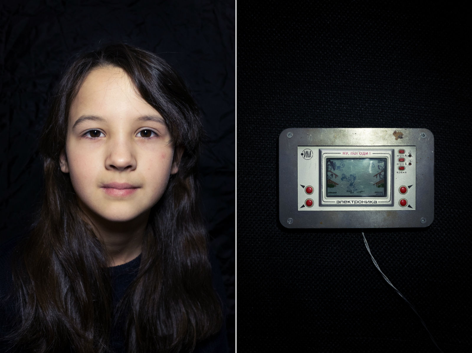 "Sofya Dorokhova (11 years old) School student | Elektronika IM – ""Nu Pogodi!"" (Just you wait!)"