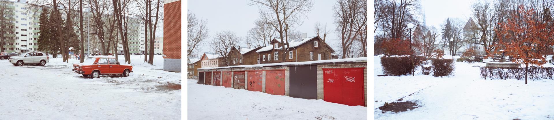 Mustamäe/Kalamaja/Casco antiguo de Tallin.